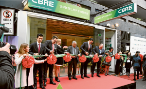 CBRE Opening Stage